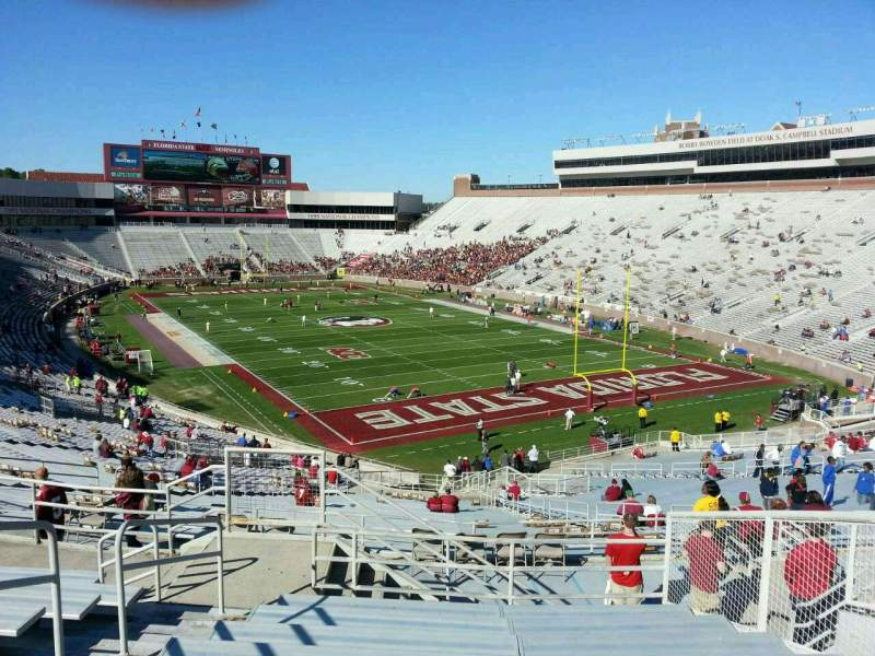 Seating view for Bobby Bowden Field at Doak Campbell Stadium Section 224 Row 59 Seat 19