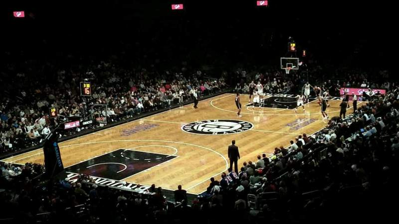 Seating view for Barclays Center Section 112 Row 6 Seat 21