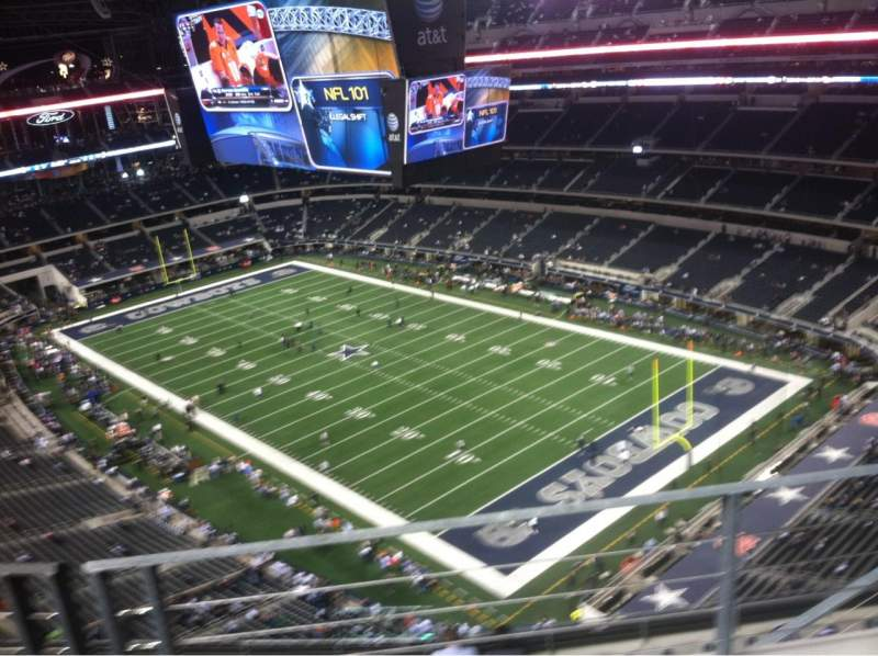 Seating view for AT&T Stadium Section 434