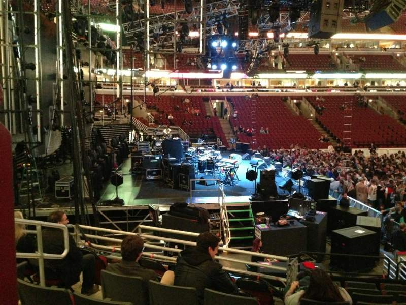 Seating view for United Center Section 114 Row 14 Seat 12