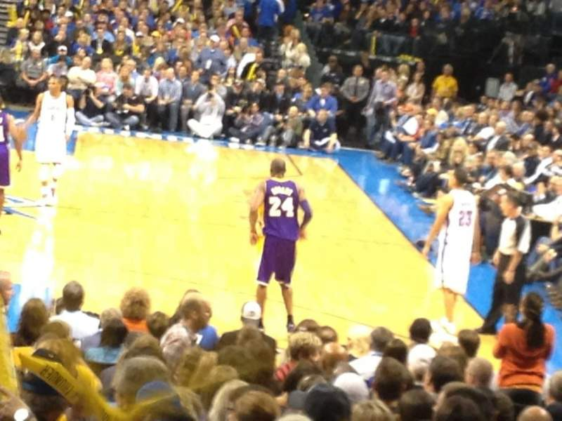 Seating view for Chesapeake Energy Arena Section K Seat 12