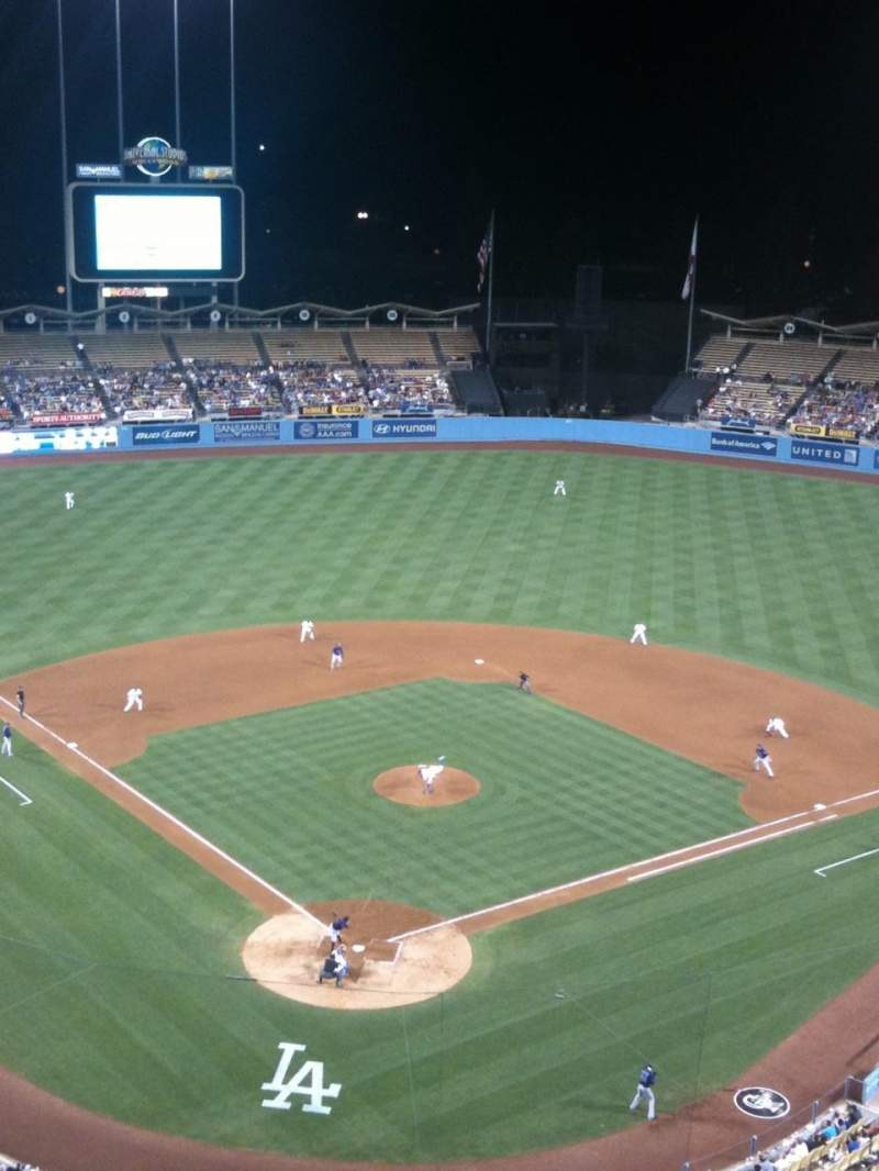 Seating view for Dodger Stadium Section 2TD Row B Seat 10