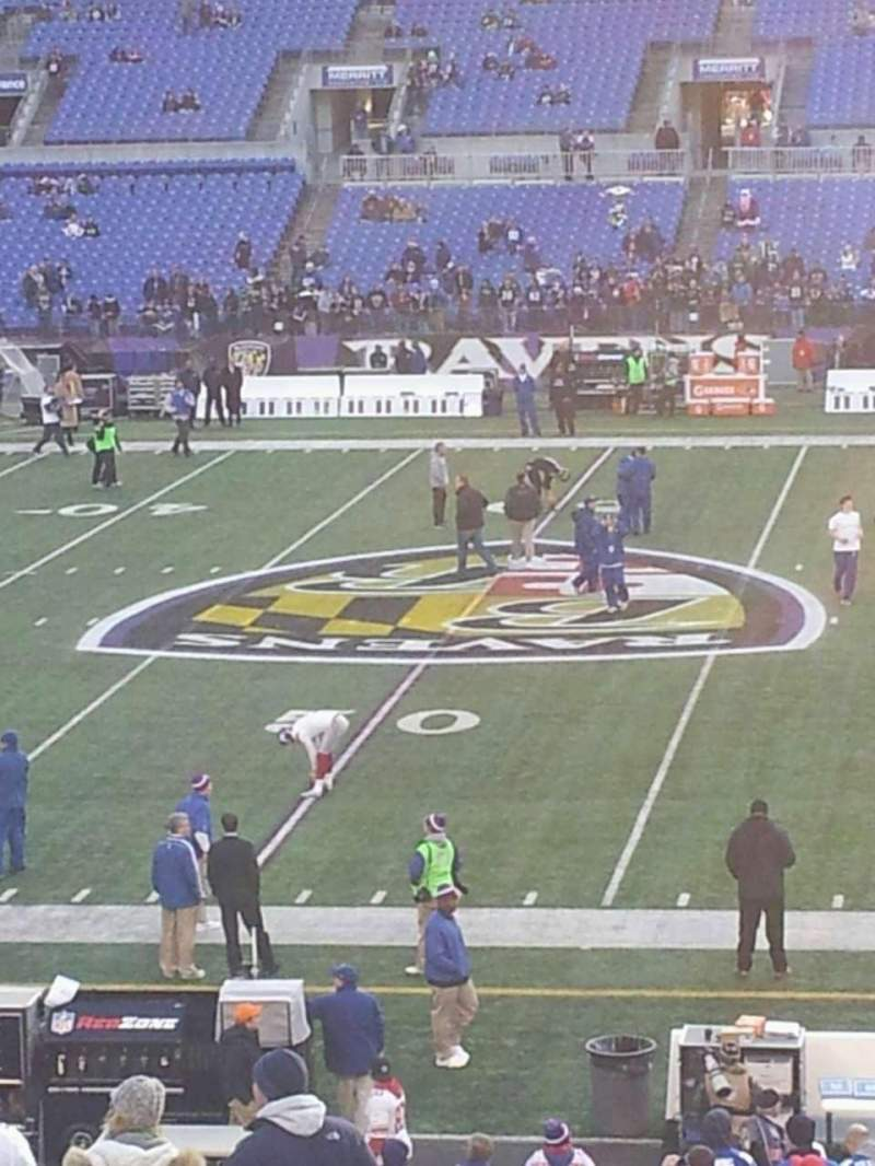Seating view for M&T Bank Stadium Section 152 Row 33 Seat 6