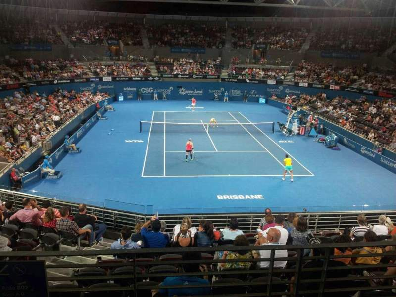 Seating view for Queensland Tennis Centre