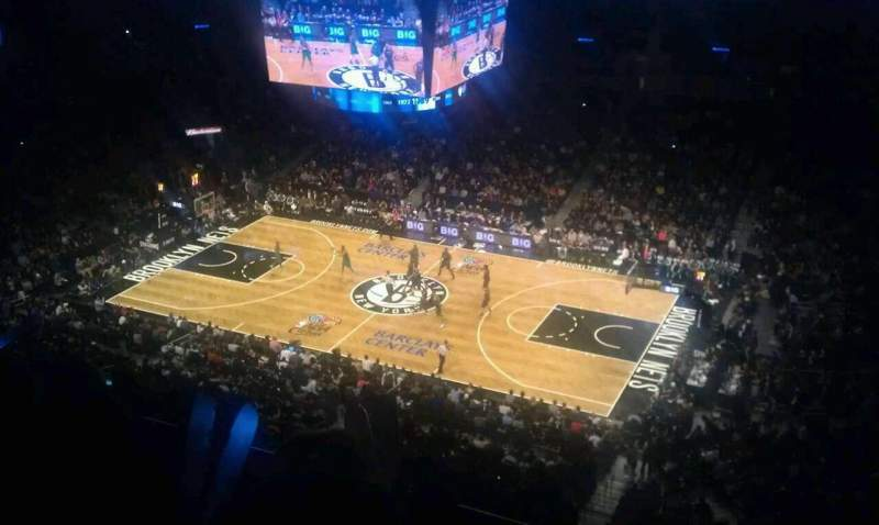 Seating view for Barclays Center Section 222 Row 6 Seat 5