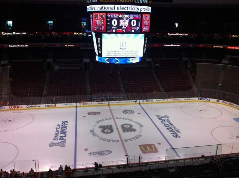 Seating view for Wells Fargo Center Section 224 Row 5