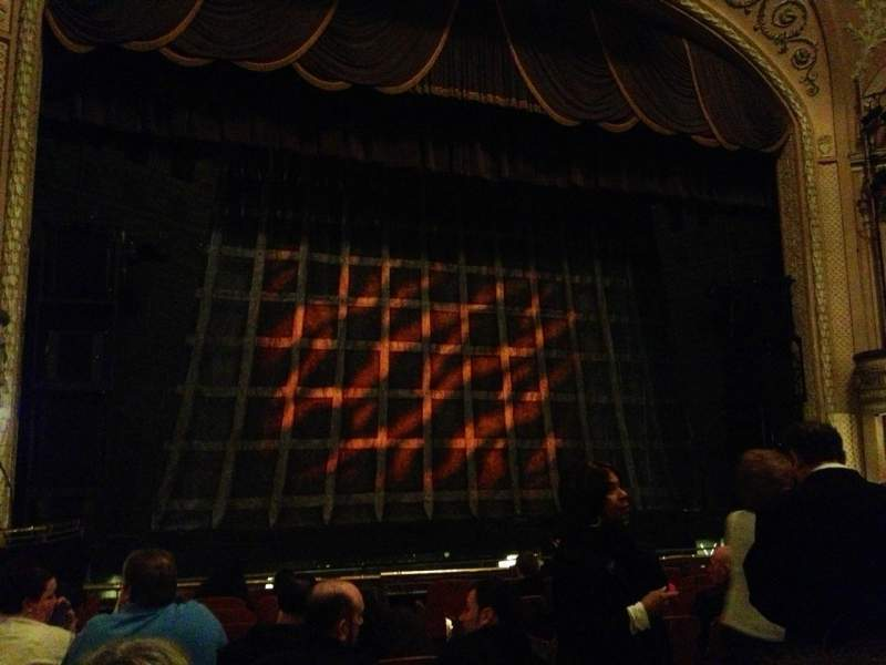 Seating view for Merriam Theater Section Orchestra Left Row L Seat 5