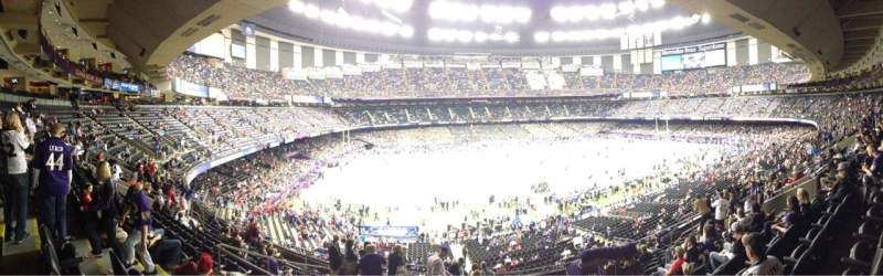 Seating view for Mercedes-Benz Superdome Section 315 Row 13 Seat 11