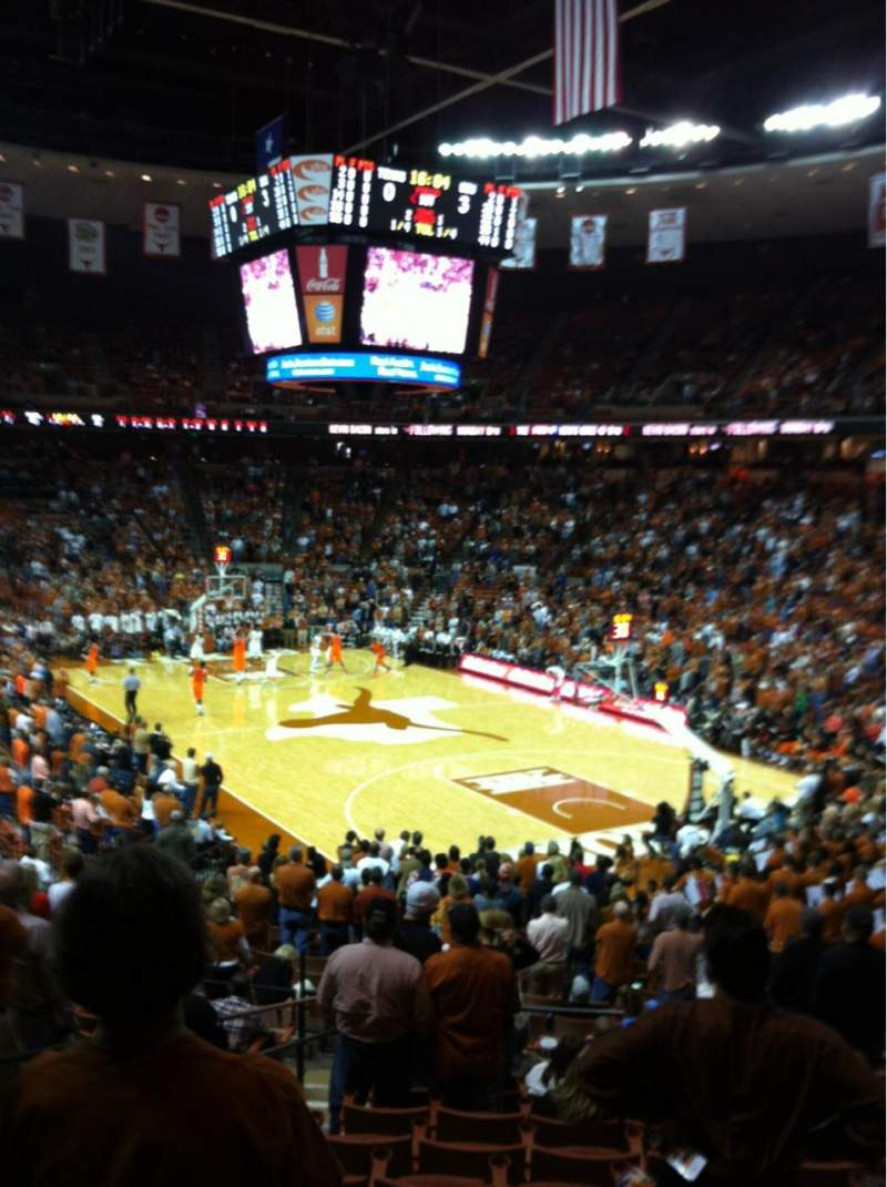 Seating view for Frank Erwin Center Section 40 Row 28 Seat 3