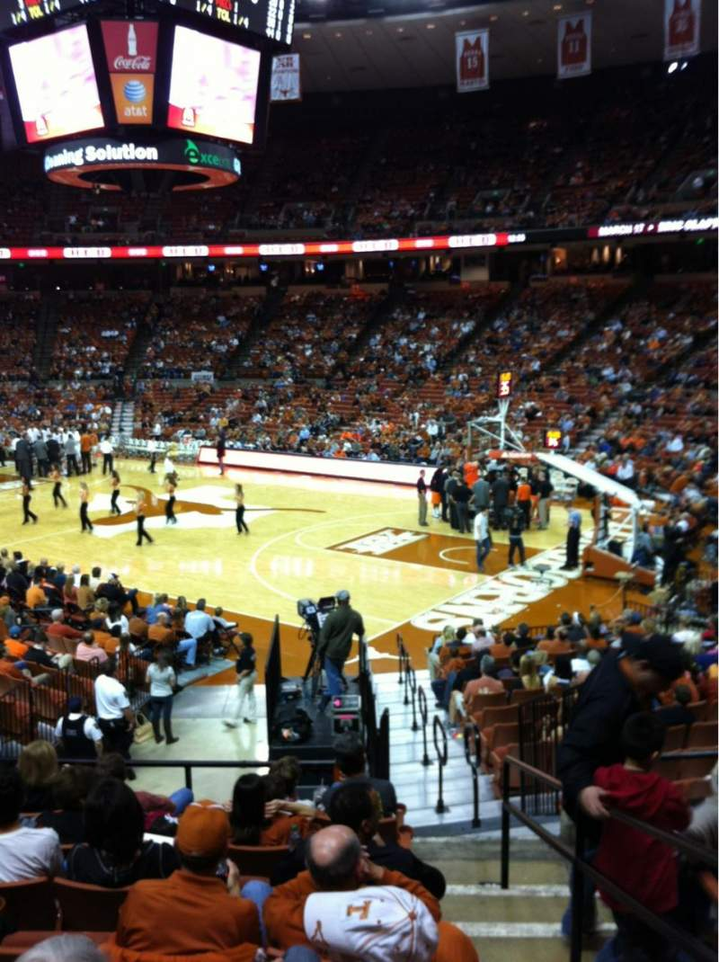Seating view for Frank Erwin Center Section 39 Row 23 Seat 12