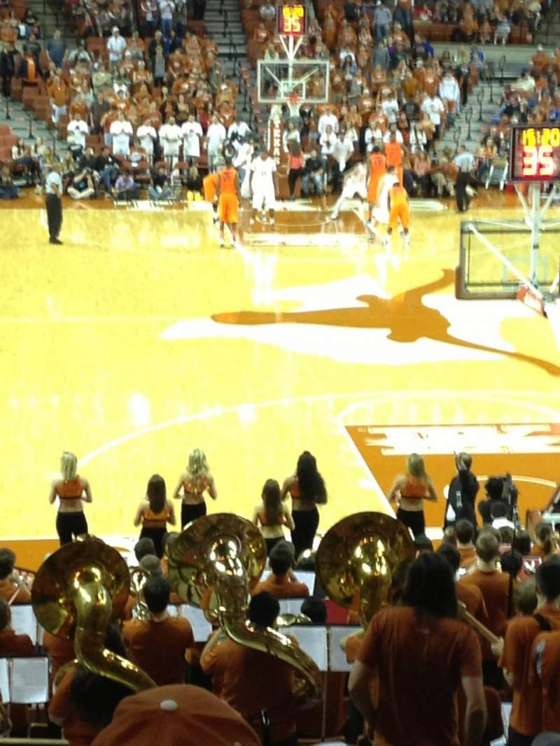 Seating view for Frank Erwin Center Section 42 Row 29 Seat 2