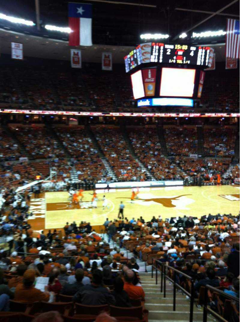 Seating view for Frank Erwin Center Section 33 Row 31 Seat 1