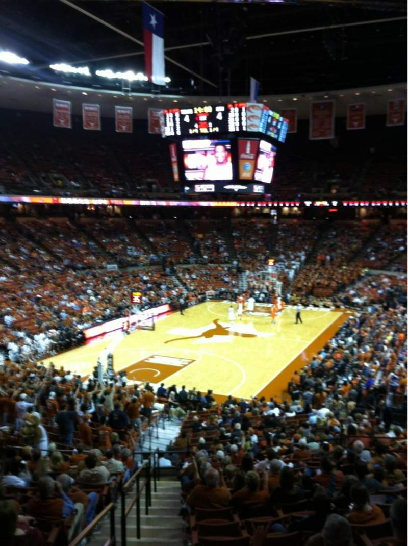 Seating view for Frank Erwin Center Section 30 Row 31 Seat 12