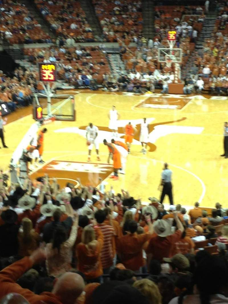 Seating view for Frank Erwin Center Section 44 Row 28 Seat 9
