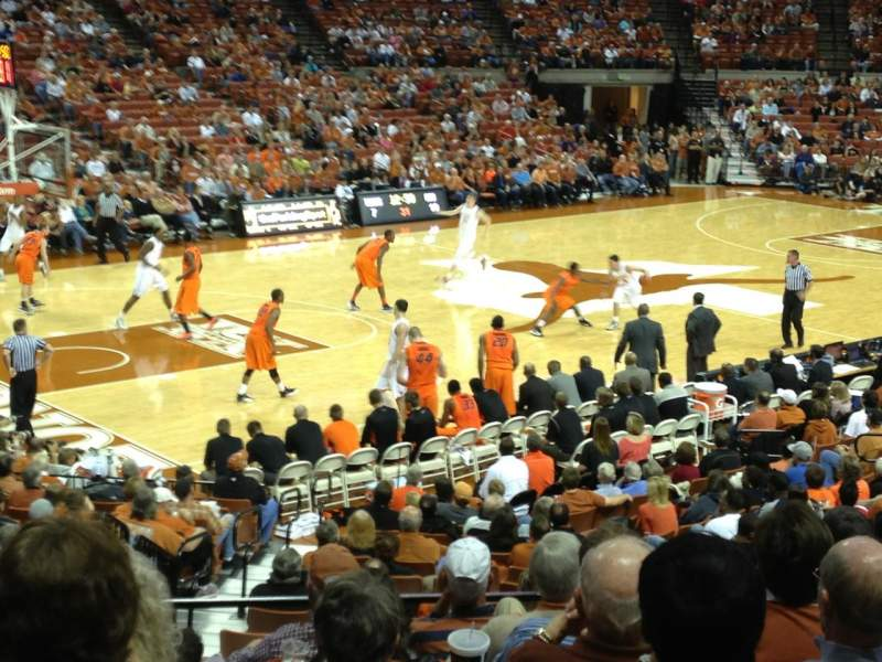Seating view for Frank Erwin Center Section 47 Row 24 Seat 11