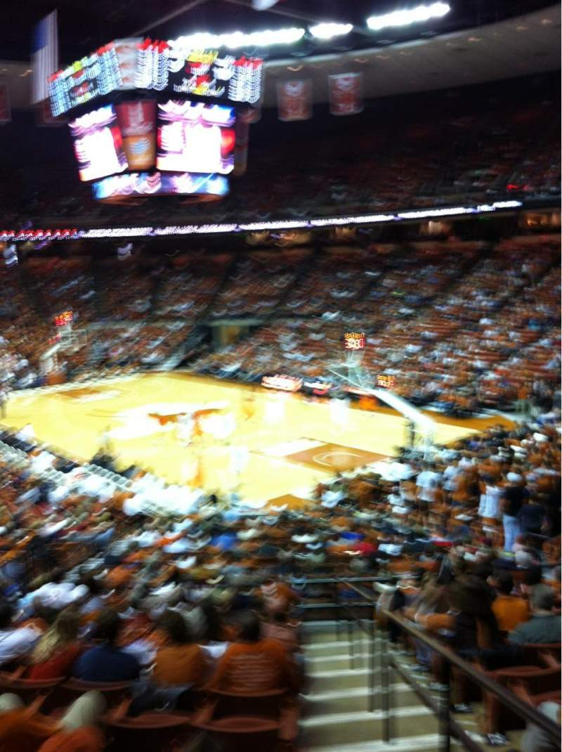 Seating view for Frank Erwin Center Section 24 Row 27 Seat 12