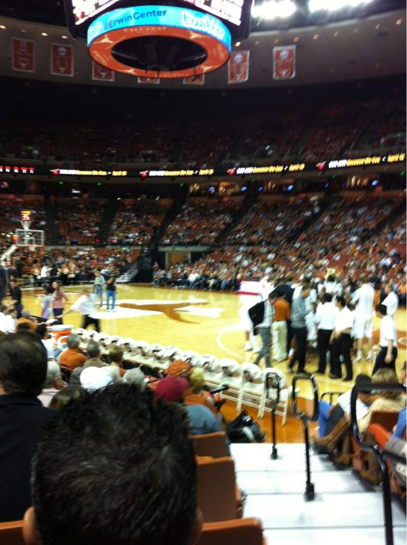 Seating view for Frank Erwin Center Section 23 Row 12 Seat 11