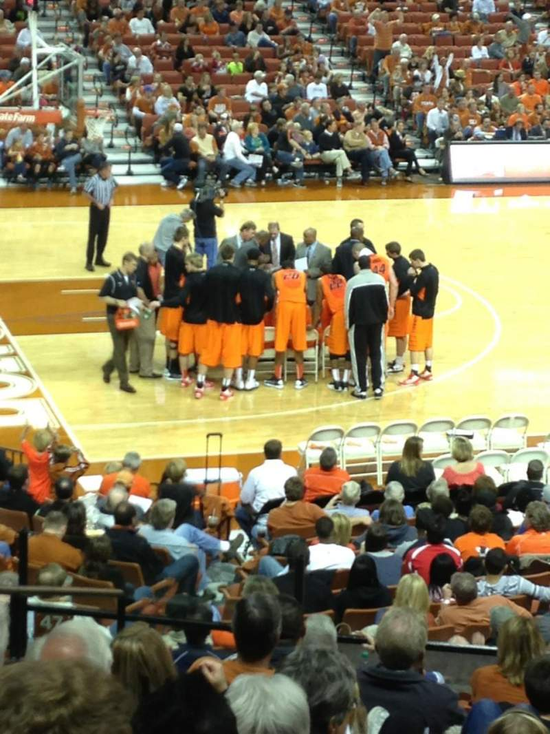 Seating view for Frank Erwin Center Section 48 Row 27 Seat 12