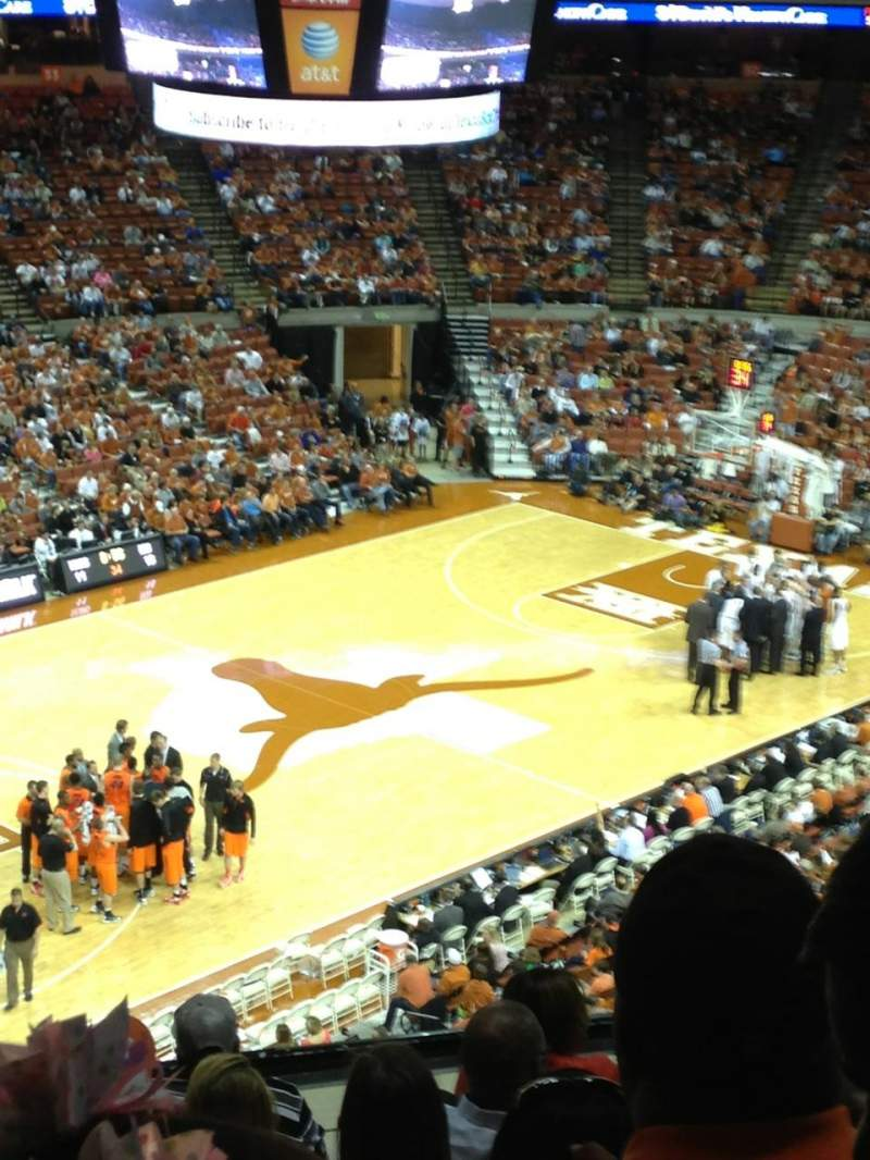 Seating view for Frank Erwin Center Section 92 Row 13 Seat 9