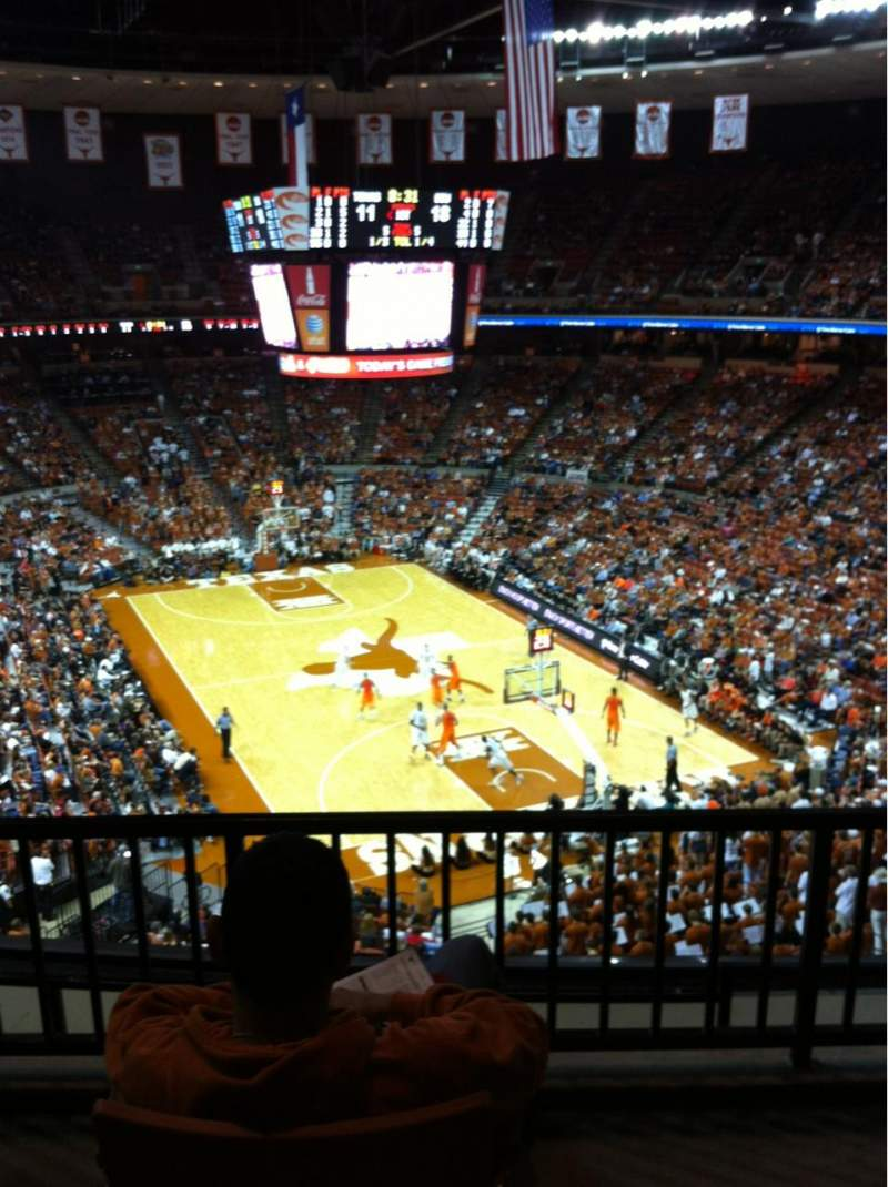 Seating view for Frank Erwin Center Section 85 Row 5 Seat 2