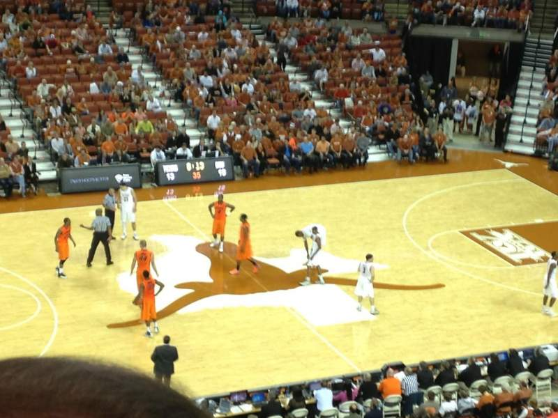 Seating view for Frank Erwin Center Section 94 Row 7 Seat 12