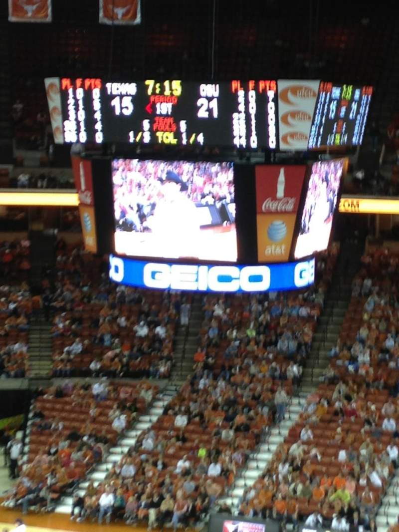 Seating view for Frank Erwin Center Section 62 Row 8 Seat 4