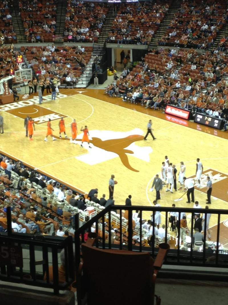 Seating view for Frank Erwin Center Section 65 Row 7 Seat 1