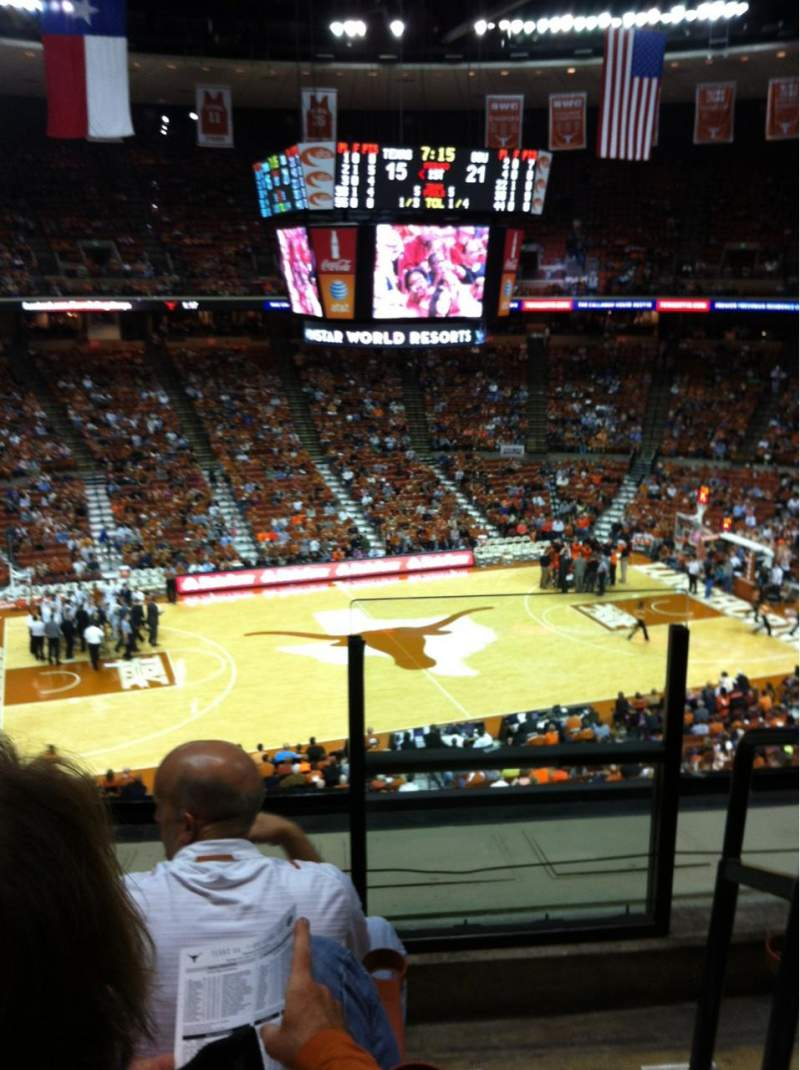 Seating view for Frank Erwin Center Section 76 Row 3 Seat 1