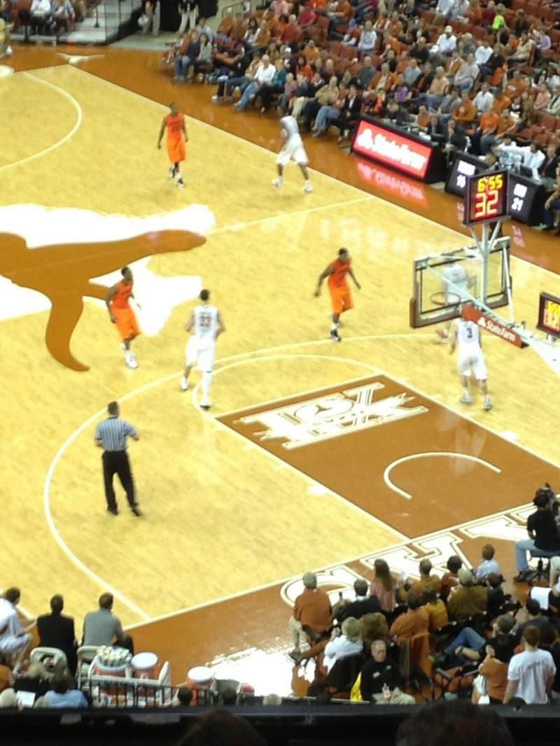Seating view for Frank Erwin Center Section 66 Row 5 Seat 6