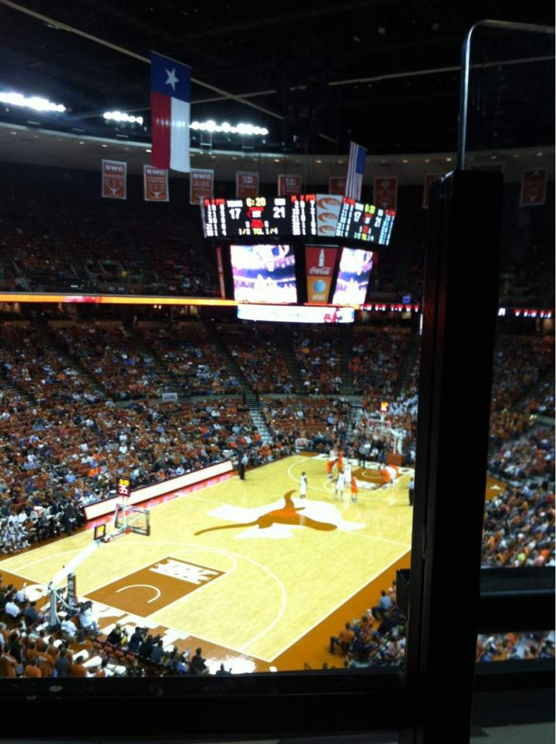 Seating view for Frank Erwin Center Section 72 Row 1 Seat 1