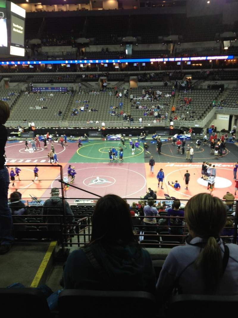 Wells Fargo Arena, section: 119, row: DD, seat: 23