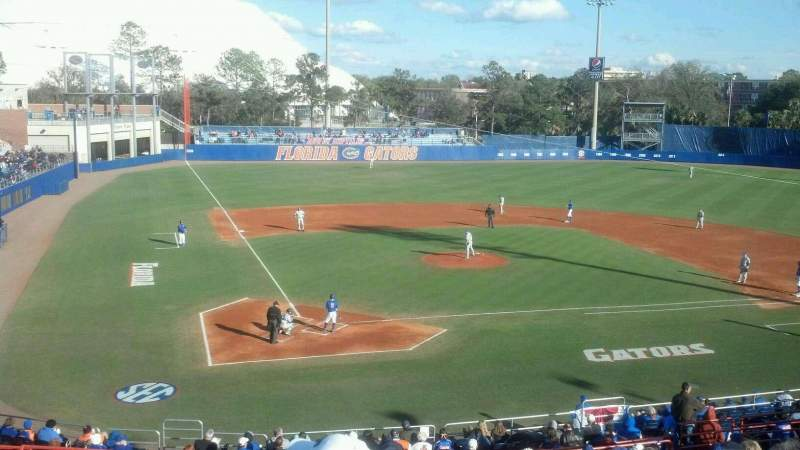 Seating view for Alfred A. McKethan Stadium Section b Row 18 Seat 11