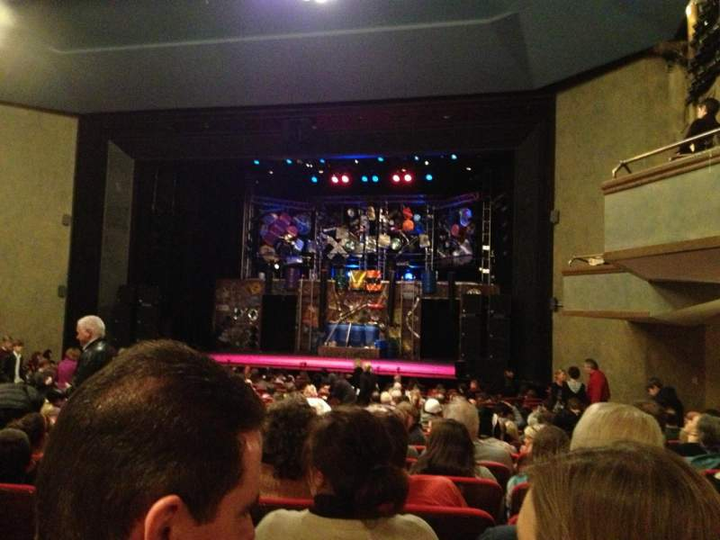 McCarter Theatre, section: Orchestra A, row: W, seat: 12