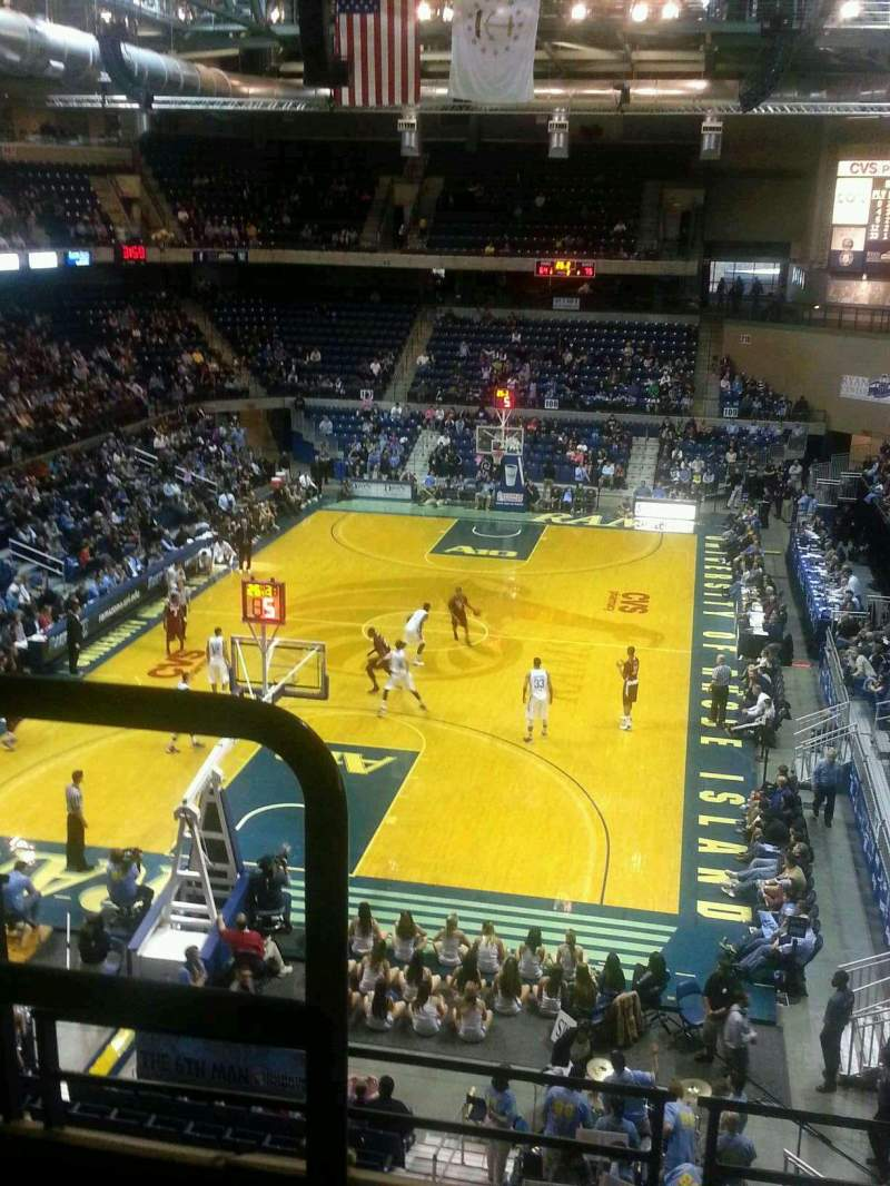 Seating view for Ryan Center Section 314 Row B Seat 19