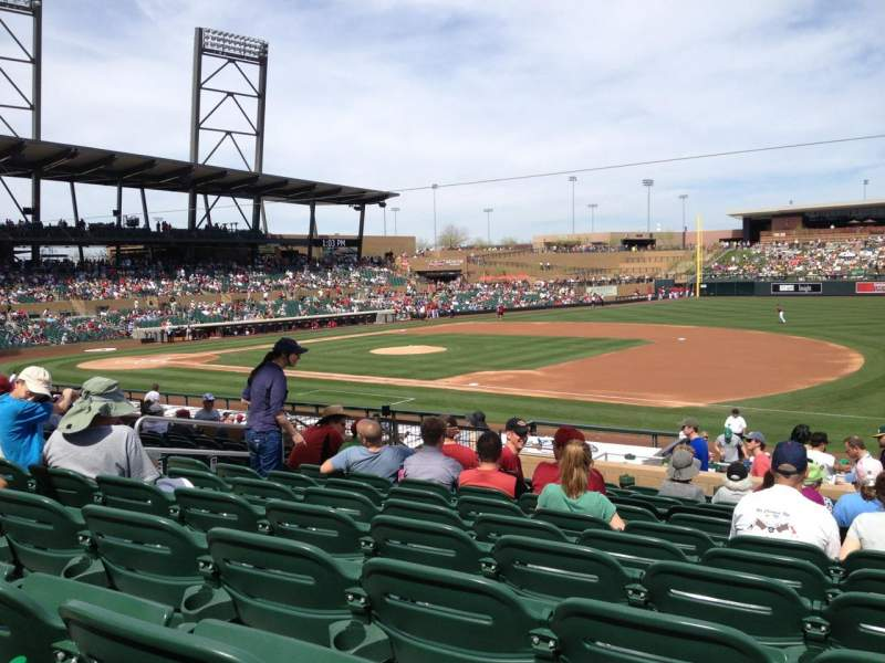 Seating view for Salt River Fields Section 204 Row 11 Seat 3