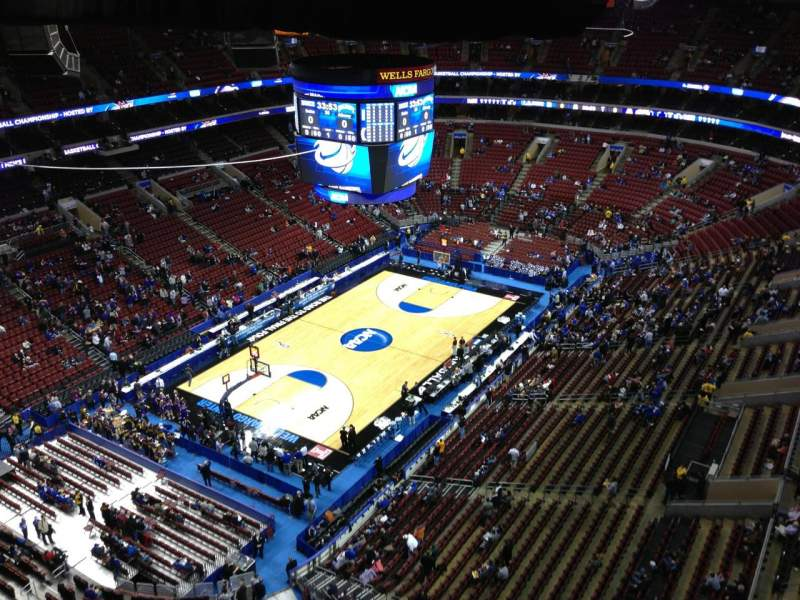 Seating view for Wells Fargo Center Section Balcony Suite 19 Row 1 Seat 11