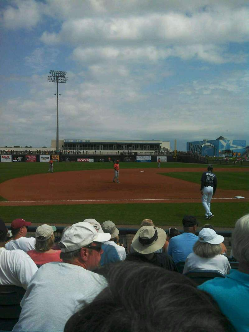 Seating view for Charlotte Sports Park Section 114 Row 7 Seat 6
