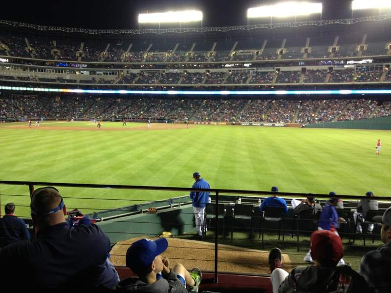 Seating view for Globe Life Park in Arlington Section 48 Row 9 Seat 10