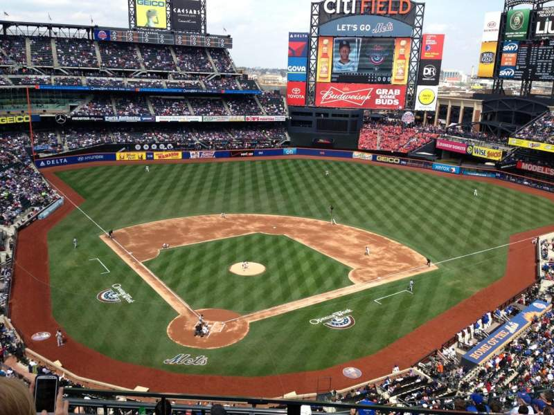 Seating view for Citi Field Section 512 Row 3 Seat 3,4