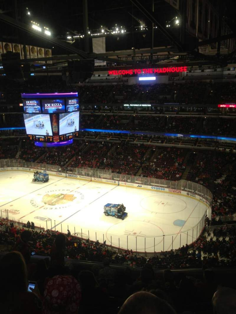 Seating view for United Center Section 331 Row 9 Seat 11