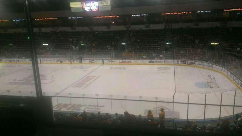 Seating view for Silverstein Eye Centers Arena Section Suite 11 Row A Seat 1
