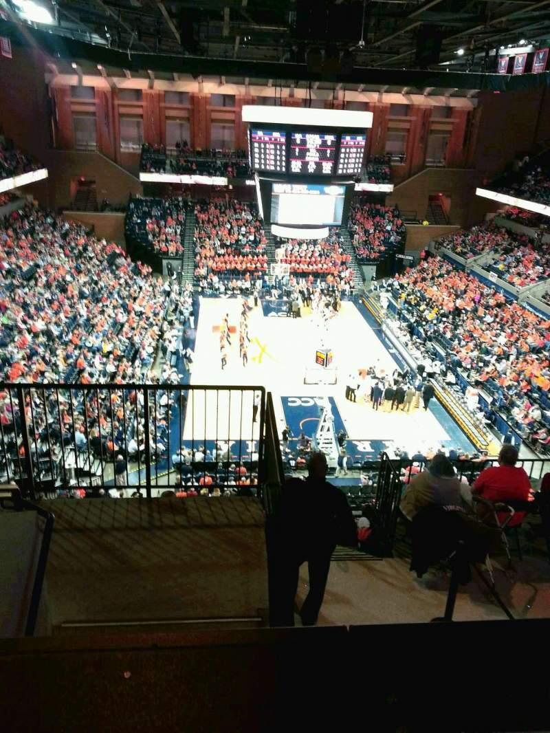 Seating view for John Paul Jones Arena