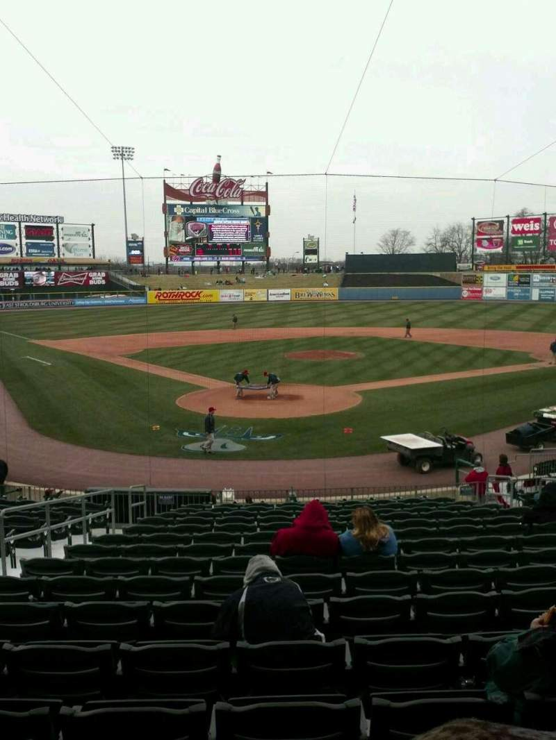 Seating view for Coca-Cola Park Section 111 Row Z Seat 4