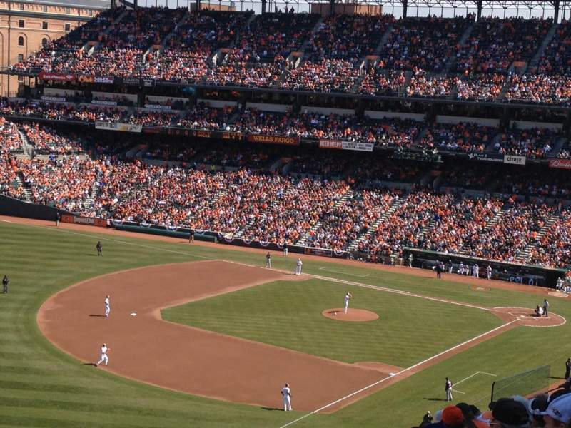 Seating view for Oriole Park at Camden Yards Section 368 Row 8 Seat 15