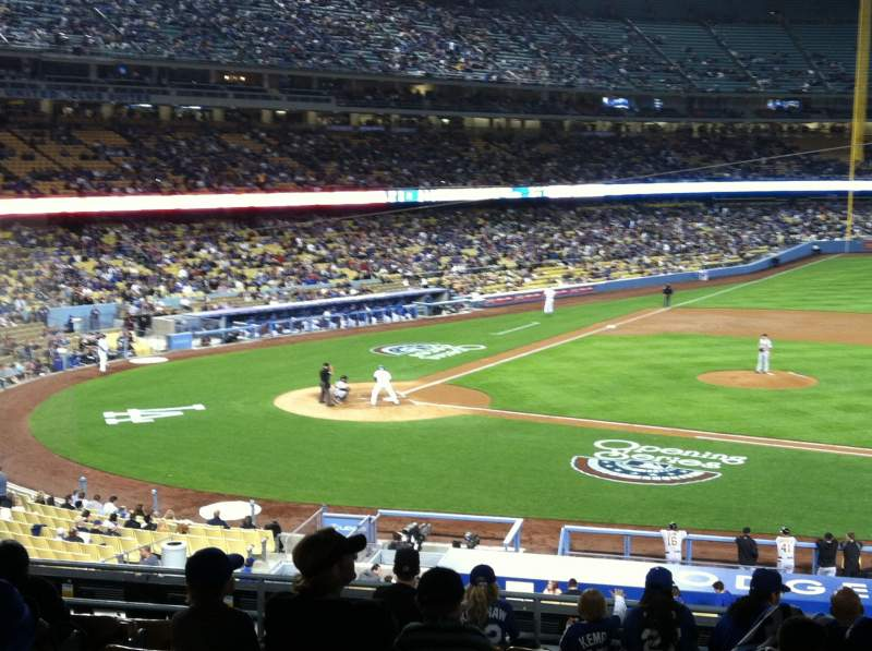 Seating view for Dodger Stadium Section 134LG Row L Seat 5