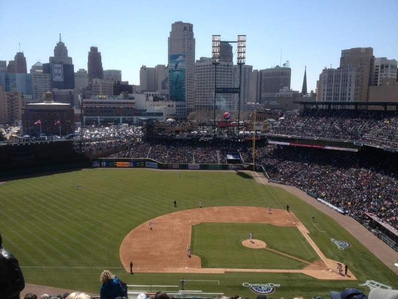 Seating view for Comerica Park Section 333 Row 19 Seat 24