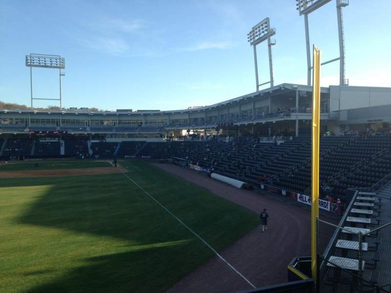 Seating view for PNC Field Section Outfield