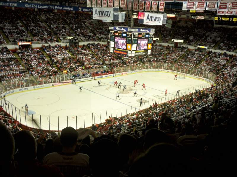 Seating view for Joe Louis Arena Section 212A Row 20 Seat 5