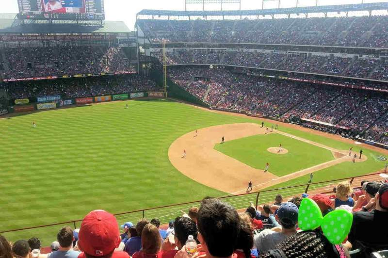 Seating view for Globe Life Park in Arlington Section 314 Row 9 Seat 10