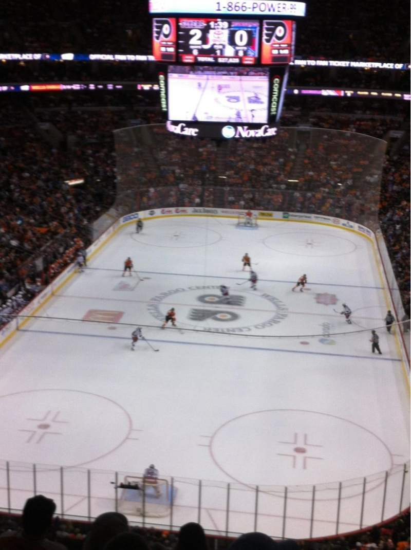 Seating view for Wells Fargo Center Section 207A Row 7 Seat 9